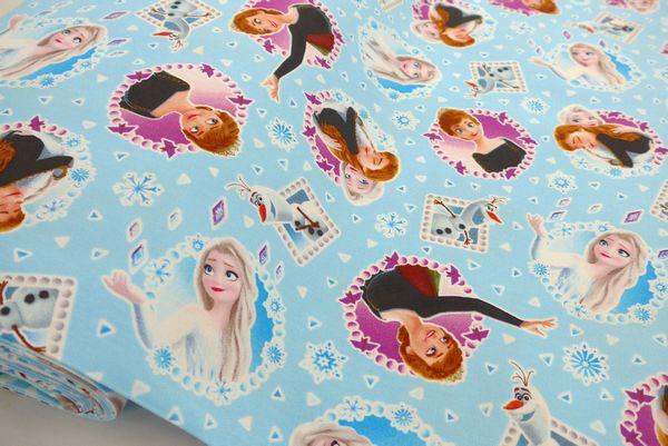キャラクター生地Disney入園入学生地材料セットの受付中 ディズニー 記念日 アナと雪の女王2 オックス生地 毎日激安特売で 営業中です 総柄