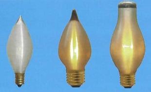 最新号掲載アイテム 旭光電機 スーパーキャンドル 糸巻きなし電球 C48 120V-40W 25本セット E26 (訳ありセール 格安)