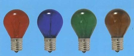 旭光電機 クリプトン耐熱透明カラー KR S35 公式通販 即納 E17 110V-22W グリーン 100 25本セット GT