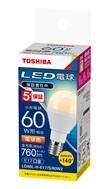 東芝ライテック LED電球 東芝ライテック E17口金 ミニクリプトン形 小形電球60W形相当 電球色 LDA6L-H-E17/S/60W210個セット