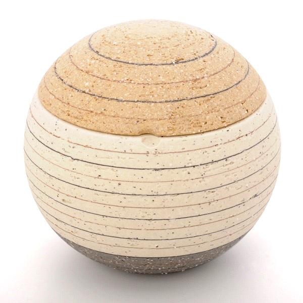 ミニ骨壷 ソラSORAシリーズ 月1(陶器製)