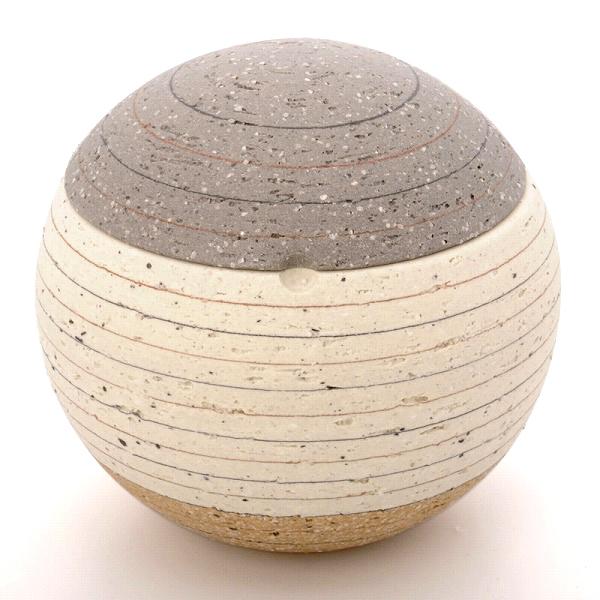 ミニ骨壷|ソラSORAシリーズ|月2(陶器製)