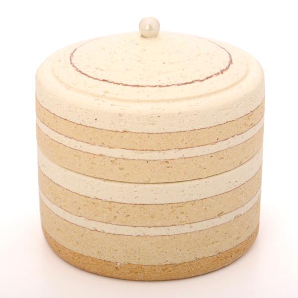ミニ骨壷 パオ PAO パールW 陶器製