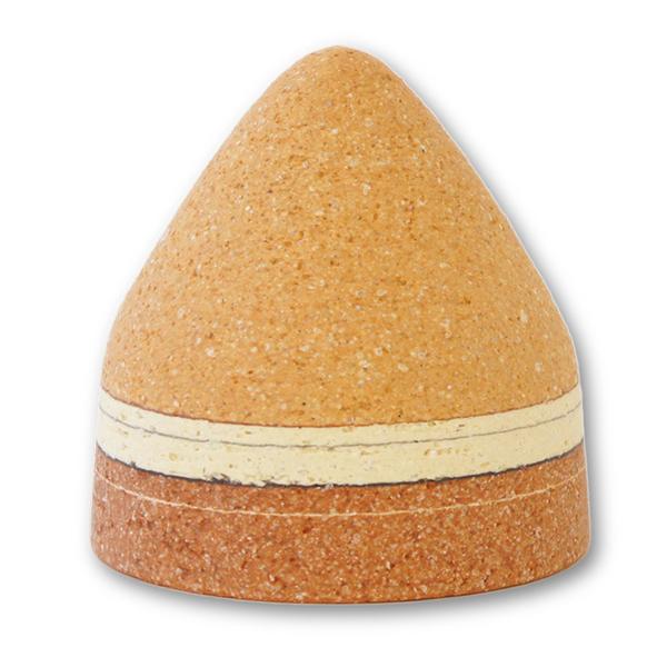 ミニ骨壷 トロス Tholos ブラウン 陶器製