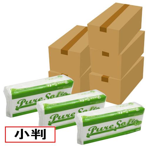 送料無料 沖縄県 離島除く まとめ買い 業務用ペーパータオル 小判 200枚×40袋×5箱 ピュアソフトECO 送料無料でお届けします セール 40000枚
