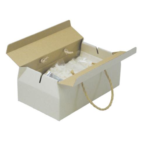 ナチュラル手提BOX(L)60枚