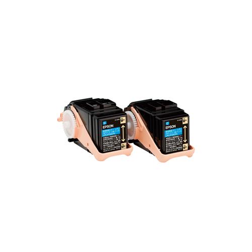 【純正】EPSON(エプソン)LPC3T33CPV 環境推進トナーシアン 2本パック / 4988617219656【返品不可商品】