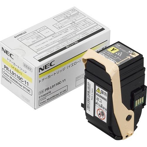 【純正】NEC PR-L9110C-11 イエロー / 4549383478595【返品不可商品】