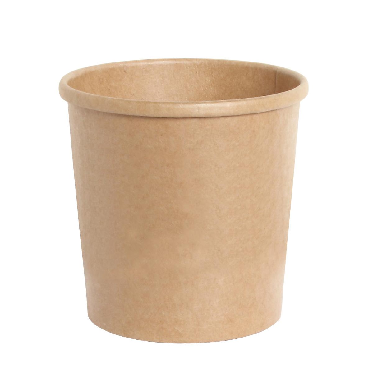 容量:380ml フードカップ 国内正規品 使い捨て おしゃれな茶色の容器です UBP 12oz スープカップ 380ml 1000個 国内正規品 未晒カップ