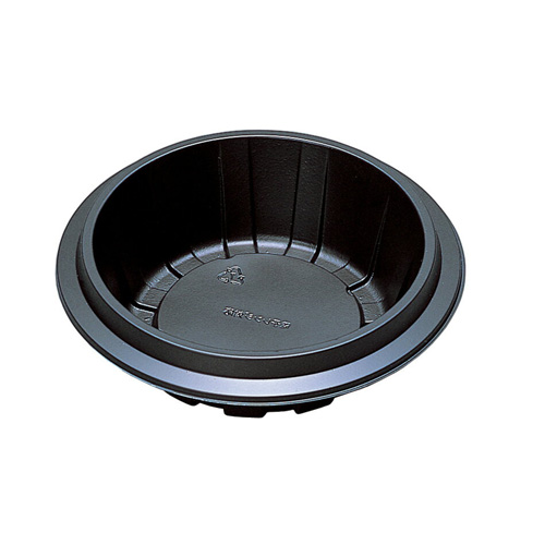 食品容器 TR-75H 黒 800枚【返品不可】福助工業 0594504