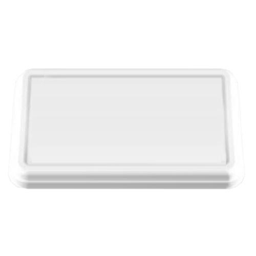 紙製弁当容器 P-3専用蓋 白 900枚【返品不可】アヅミ産業