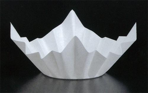 ミニ色和紙鍋(白色)1500枚