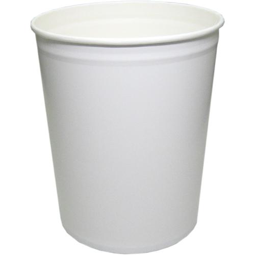 【送料無料】コートカン 紙容器CO-10L 白無地 100個_業務用_アイスクリーム_アイス保存_10リットル容器
