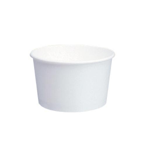 【容量:146ml】トーカン デザートカップ 使い捨て 業務用  トーカン/デザートカップ 紙容器 業務用(146ml)PI-120T ムジ 片面PE 1500個