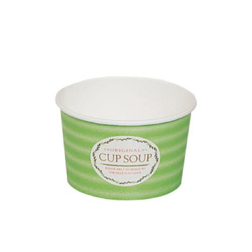 トーカン/スープカップ 紙容器 業務用(293ml)PC-240N スープカップ S 片面PE 1200個