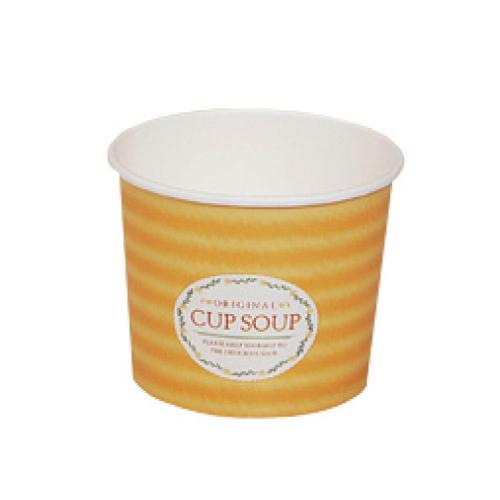トーカン/スープカップ 紙容器 業務用(396ml)PC-395 スープカップ M 両面PE 1000個