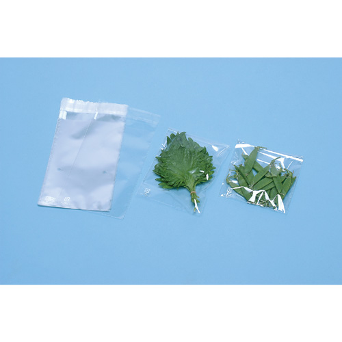 野菜袋 OPP防曇 糊付袋(150×150+40mm)Pマーク入2穴 20000枚