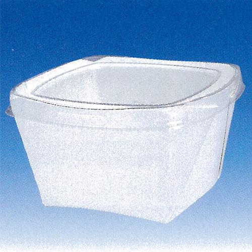 【送料無料】フードコンテナー(正L)無地 600枚_紙容器_テイクアウト容器_食品容器_業務用