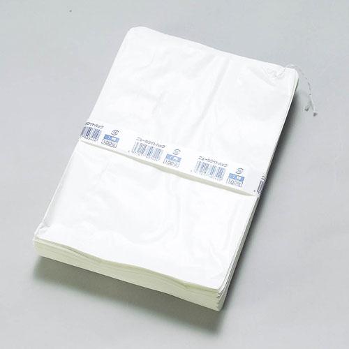 【送料無料】ホワイトパック1号 200×285mm 4000枚_福助工業_0180629_ホワイトパック_惣菜袋_業務用