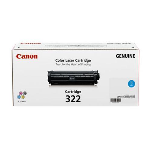 純正品 Canon(キャノン) トナーカートリッジ322 シアン / 4960999572123【返品不可商品】