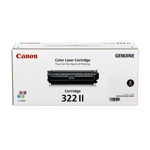純正品 Canon(キャノン) トナーカートリッジ322II ブラック / 4960999572154【返品不可商品】