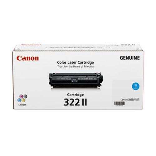 【純正】Canon(キャノン)トナーカートリッジ322II シアン / 4960999572130【返品不可商品】