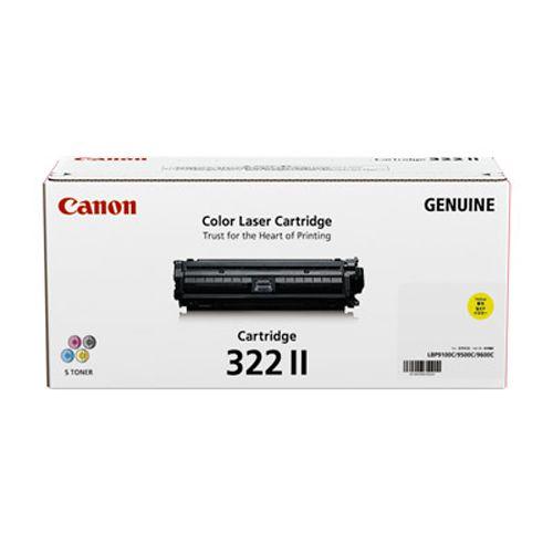 【純正】Canon(キャノン)トナーカートリッジ322II イエロー / 4960999572383【返品不可商品】