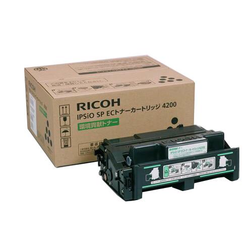 【純正】RICOH(リコー)IPSIO SP ECトナー 4200 / 4961311853036【返品不可商品】