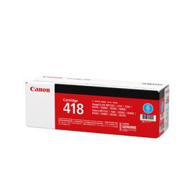 純正品 Canon(キャノン)トナーカートリッジ418 シアン / 4960999655345【返品不可商品】