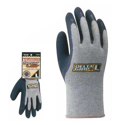 【送料無料】作業用手袋 2528 デルタグリッププラス 1P 120双