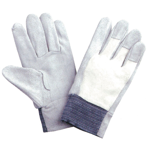 【送料無料】作業用手袋 2277 牛床革 甲メリヤス 120双