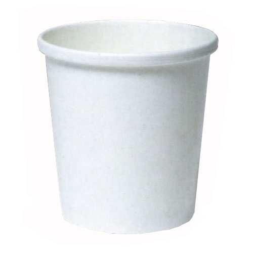 トーカン/アイスカップ 大型紙容器 業務用(483ml) SI-500T ムジ 両面PE 800個
