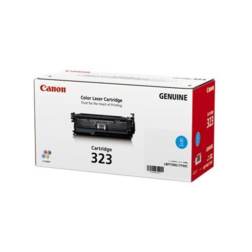【純正】Canon(キャノン)トナーカートリッジ323 シアン / 4960999632667【返品不可商品】