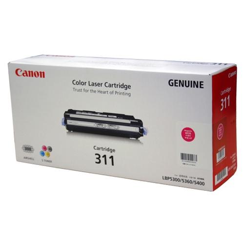 【純正】Canon(キャノン)トナーカートリッジ311 マゼンタ / 4960999403755【返品不可商品】