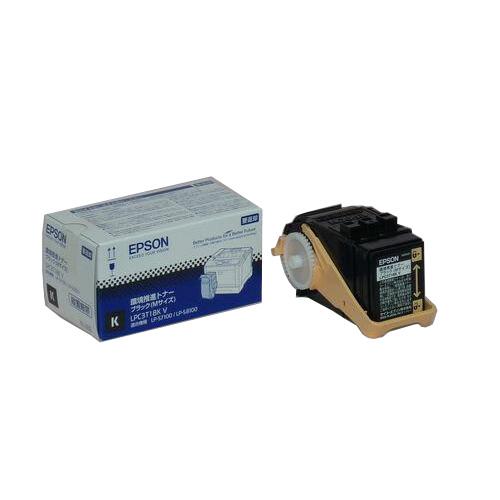 【純正】EPSON(エプソン)LPC3T18KV 環境推進トナー ブラックMサイズ / 4988617049635【返品不可商品】