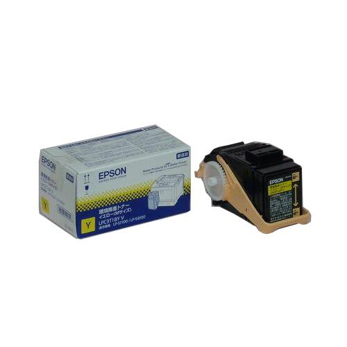 純正品 EPSON LPC3T18YV 環境推進トナー イエローMサイズ / 4988617049611【返品不可商品】