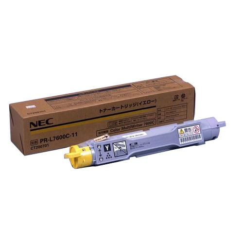 【純正】NEC PR-L7600C-11 イエロー / 4547714043320【返品不可商品】