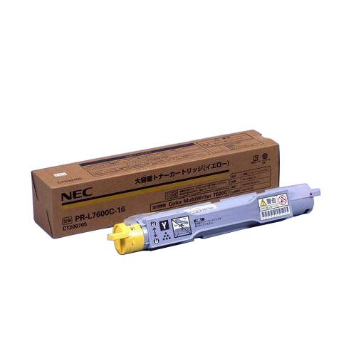 純正品 NEC PR-L7600C-16 イエロー / 4547714043368【返品不可商品】