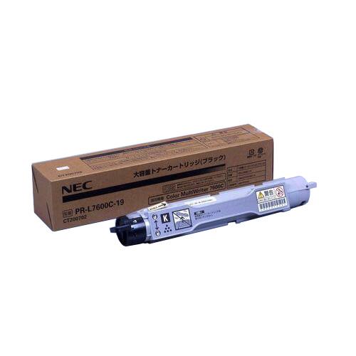 【純正】NEC PR-L7600C-19 ブラック / 4547714043399【返品不可商品】