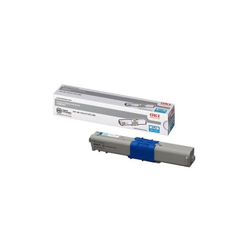 【純正】OKI(OKIデータ)TNR-C4HC2 シアン大容量トナー / 4949443207309【返品不可商品】