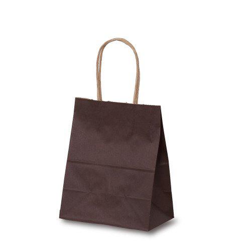 手提げ紙袋 T-1カラー(カカオ)400枚