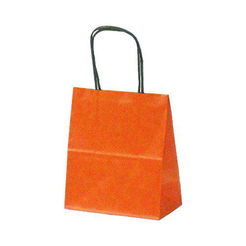 手提げ紙袋 T-2カラー(オレンジ)400枚