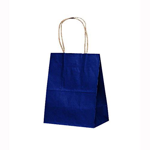 手提げ紙袋 T-2カラー(紺)400枚