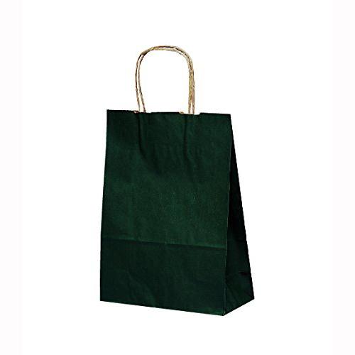 手提げ紙袋 T-3カラー(緑)400枚