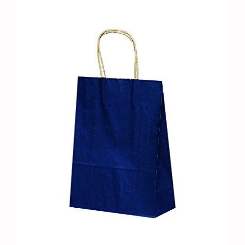 手提げ紙袋 T-3カラー(紺)400枚