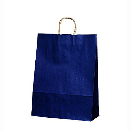 手提げ紙袋 T-12カラー(紺)200枚
