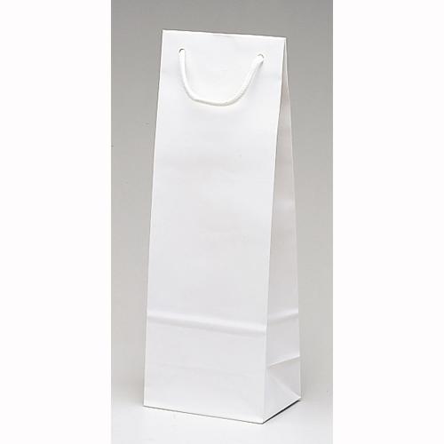 手提げ紙袋 スリムバッグ(白)100枚