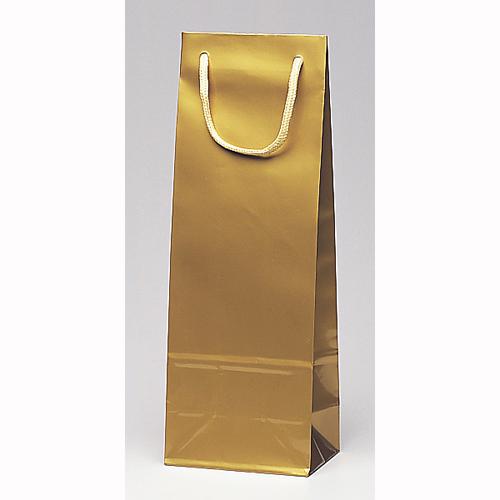 手提げ紙袋 スリムバッグ(金)100枚