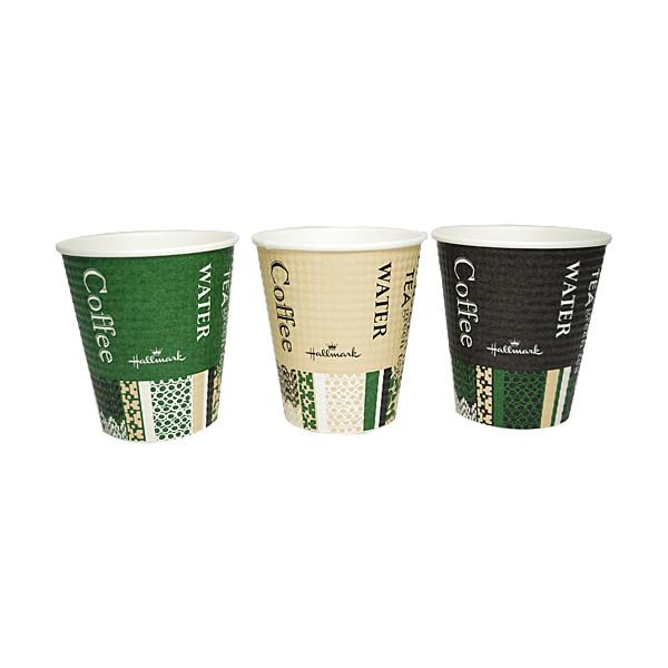 【送料無料】断熱紙コップ HMカフェ 1500個_業務用_紙コップ_ホット用_コーヒー_テイクアウト