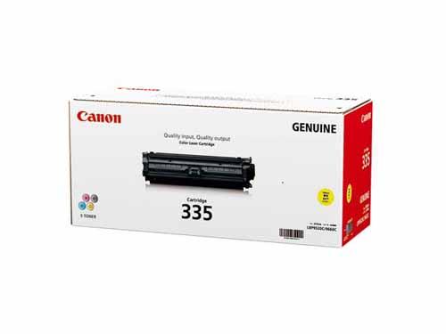 【純正】Canon(キャノン)トナーカートリッジ335イエロー / 4960999989129【返品不可商品】